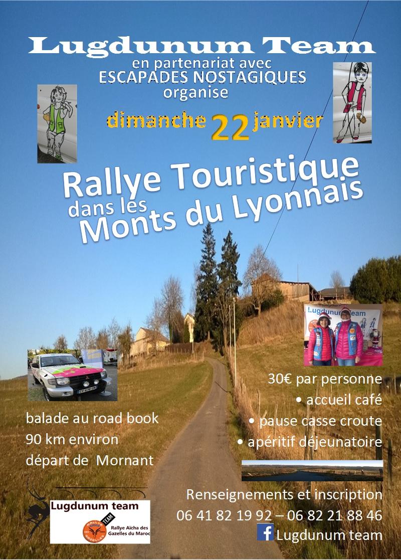 RALLYE TOURISTIQUE DU 22 JANVIER 2017 - Flyer